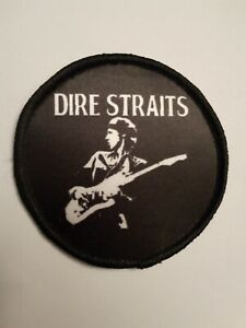 3 Inch Dire Straits sublimation style iron or sew on patch