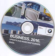 BMW BUSINESS EUROPA 2016 DVD-2 E60 E70 E81 E90 E91