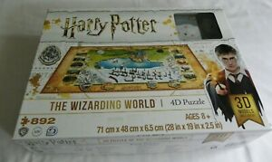 Harry Potter 4D Jigsaw puzzle The Wizarding World 892 pieces 71cms x 48cms x 65