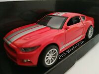 1/43 FORD SHELBY MUSTANG GT350 2016 LICENCIA COCHE DE METAL ESCALA SCALE DIECAST