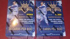 2017 Panini Diamond Kings Baseball 2 Blaster Box Lot 7 Packs  5 Cards per