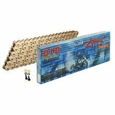 530ZVMX Gold DID Motorcycle Super Heavy Duty 112 Link Chain With Rivet Link