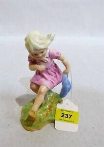 Vintage Royal Worcester Figure MARCH 3454  From F.G.Doughty's Months of  Year