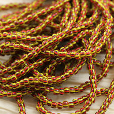 **Pick Your Color** Hard to find Striped 6/0 Czech seed beads - 70 grams