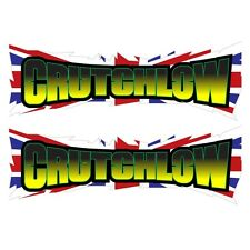 Cal Crutchlow flag decals graphics stickers x 2 moto gp