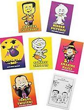 Confezione di 12-MINI Halloween Divertimento e Giochi Activity Book-Party Bag Filler