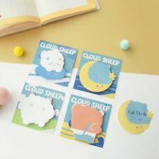 """""""Cloud Sheep"""" Pack of 4 Cute Sticky Notes Stickers Adhesive Memo Pads Notepad"""