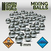 Mixing Stainless Balls 8mm for Paint pots GSW, Vallejo, Model Color, Citadel