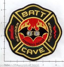 Florida - Pompano Beach Station 63 FL Fire Dept Patch - Bat Cave Batman
