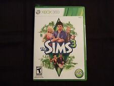 Replacement Case (NO GAME) THE SIMS 3 XBOX 360