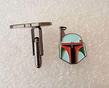 Pair of Stylish Star Wars Boba Fett Cufflinks