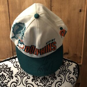 Miami Dolphins Baseball Hat Cap Signed By Zach Thomas #54