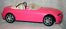 Barbie Hot Pink Convertible Motorized Cruisin Sports Car Battery Operated 1996