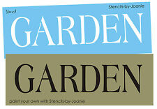 Stencil Garden Shabby Cottage Yard Porch Chic French Decor Craft Signs You Paint