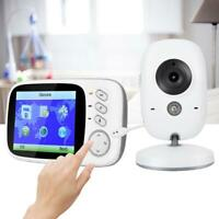 "3.2""LCD Wireless 2.4G Intercom Baby Monitor HD Surveillance Camera Night View"