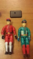 "Street Fighter II, 2-Piece Lot of Major M. Bison, 4"", Action Figures (1990's)"