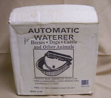 Aw metal Automatic Waterer Float Controlled Steel Farm Horse Livestock Sheep Dog