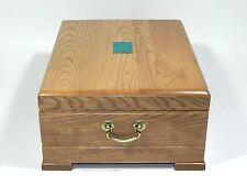 Reed & Barton Flatware Silverware Storage Chest Wood Box