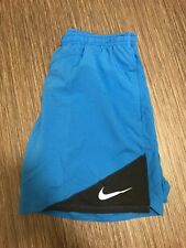 """Nike 2 in 1 7"""" Distance Lined Running Athletic Shorts Size Large L 834222-436"""