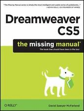 Dreamweaver CS5 The Missing Manual by D.S.McFarland, 2010 Lot #1A