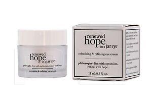 Philosophy Renewed Hope In A Jar Eye 0.5oz / 15ml NEW IN BOX