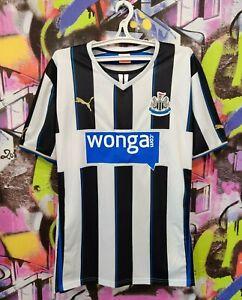 Newcastle United FC 2013/14 Home Football Shirt Soccer Jersey Puma Mens 2XL/3XL