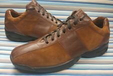 COLE HAAN CASUAL OXFORD BROWN SUEDE LEATHER MENS SNEAKERS LACE UP SHOES 9.5 M