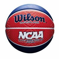 NEW Indoor Outdoor Street BALL NCAA Basketball Wilson RED NAVY SIZE 29.5