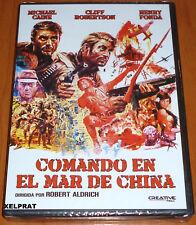 COMANDO EN EL MAR DE CHINA / TOO LATE THE HERO English Español DVD R2 Precin anj