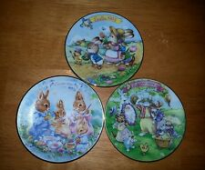 Avon 1992, 1993, and 1994 Easter plate.