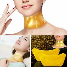5*Soin Hydratant Anti-âge Peau Cou Or Masque Collagène Bio Vieillissement Patch