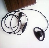 D Style  Earhook Earpiece for Vertex Standard VX350 VX351 VX354 portable radio