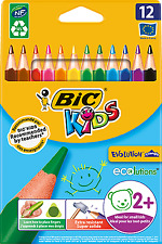 BIC Kids Buntstifte Farbstifte Dreikantbuntstift Kids Evolution TRIANGLE