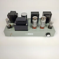 Finished HiFi EL34-B Vacuum Tube Amplifier Class A Single-ended Stereo Power Amp
