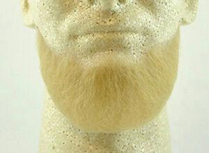Blonde Human Hair Goatee Chin Beard Costume Beard 2023