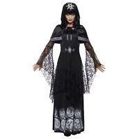 4ad59052037 Adult Ladies Black Magic Mistress Sexy Voodoo Hostess Duchess Halloween  Costume