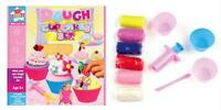 Kids Childrens Make Your Own Dough Cupcakes Play Toy Moulding Craft Sets
