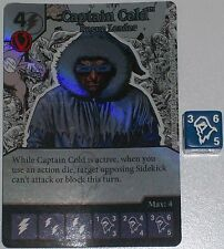 Foil CAPTAIN COLD: ROGUE LEADER 6 Green Arrow The Flash Dice Masters