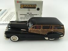 1/43 BROOKLIN 95 BUICK ROADMASTER ESTATE WAGON 1948 1 OF 42 W/ FACTORY ERRORS