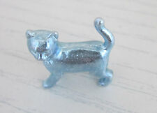 Monopoly Parker Brother Silver Cat Game Piece Replacement Parts 00009 2014