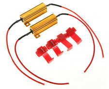 2PCS 50W 6-Ohm Load Resistors For Hyper Flash Turn Signal Blink Blinker LED Bulb
