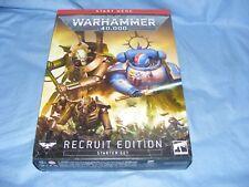 Warhammer 40k Recruit Edition Starter Set Games Workshop 40 000