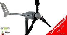 l'énergie éolienne, iSTA Breeze® 48V/2000W, générateur,turbine Black Edition