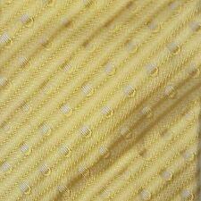 Vintage Richel Gold Striped Polka Dot 100% Silk Tie NWT $75.00