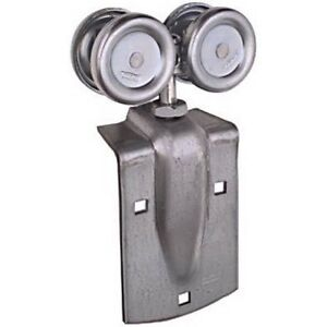 Stanley National Hardware N112-102 Box Rail Trolley Hanger Pair for Indoor/Outdo