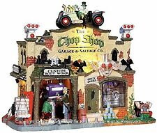 Lemax 25323 THE CHOP SHOP GARAGE & SALVAGE CO. Spooky Town Building Halloween I