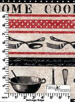 Home Cooked Fabric F1017 Michael Miller BY THE HALF YARD