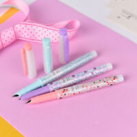 Cute Flower Plastic Fountain Pen With Ink Sac For Kids Gift Korean Stationery、UK