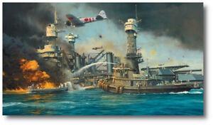 Morning Thunder by Robert Taylor  - Pearl Harbor - Aviation Art Print