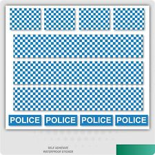 Police Decals Road Mountain Bike/Bicycle, Toy Car Stripes Frame Stickers